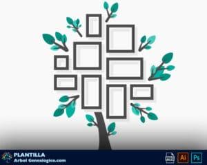 arbol-genealogico-moderno-con-fotos