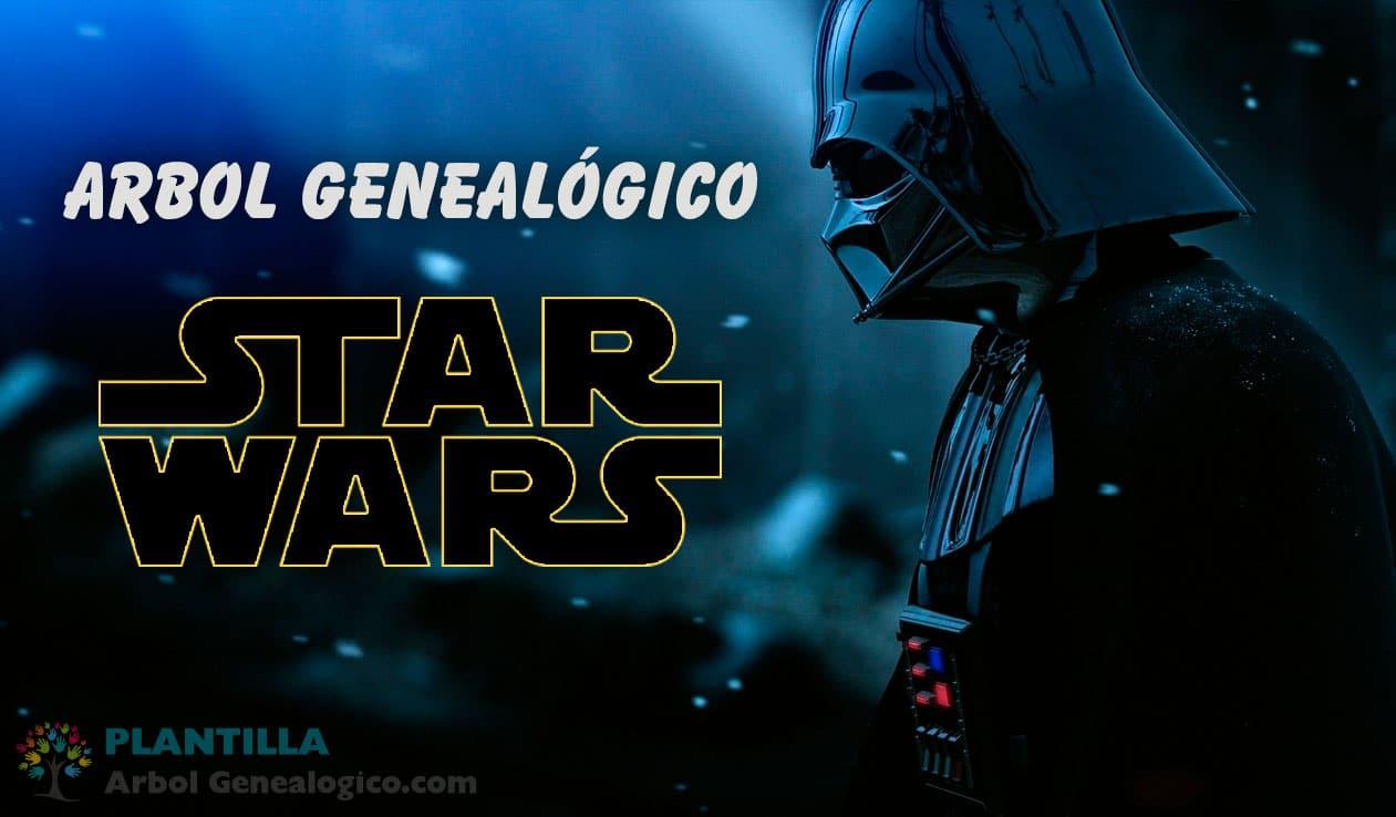 Arbol genealógico Star Wars