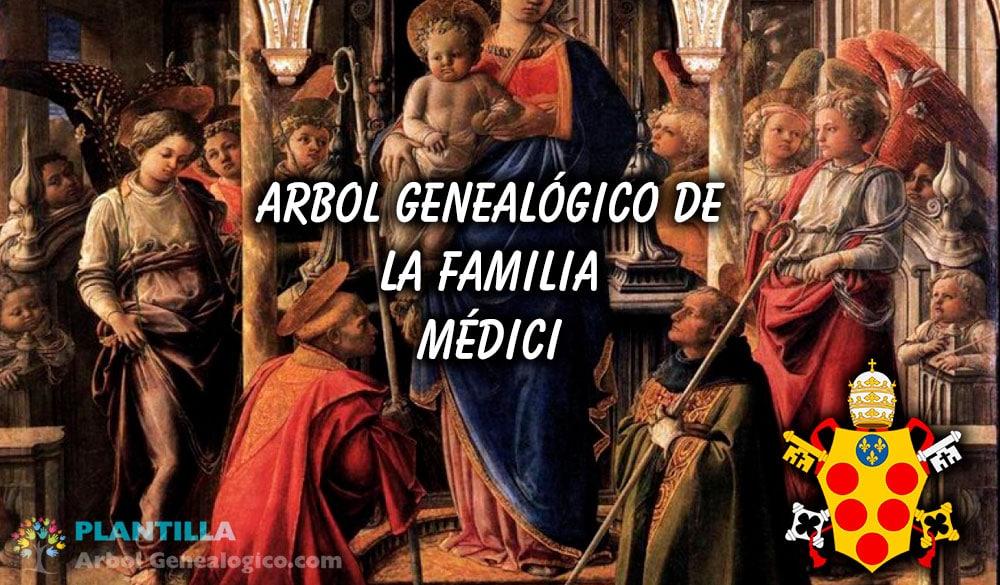 ▷ 🧿 Árbol genealógico de los Médici - Plantilla Arbol Genealógico