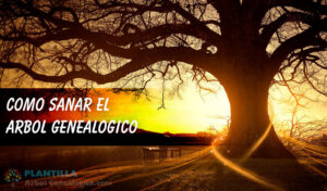 Sanar árbol genealogico