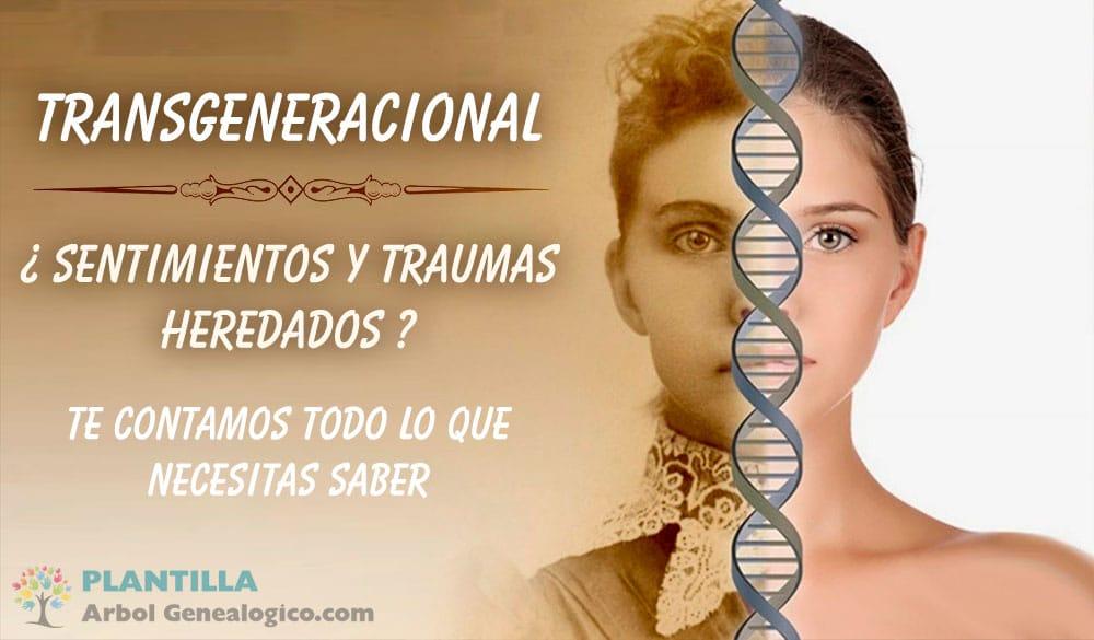▷ 🧿 Transgeneracional ¿Qué significa el termino? Terapias y más